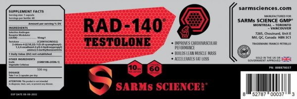 RAD-140 TESTOLONE (UK only)